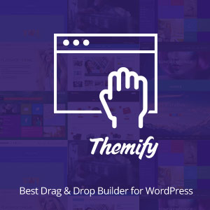 Themify Drag and Drop Builder